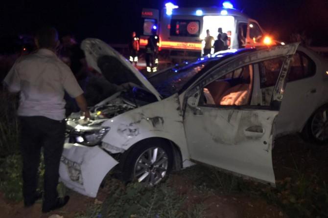Nusaybin'de trafik kazası: 4 yaralı