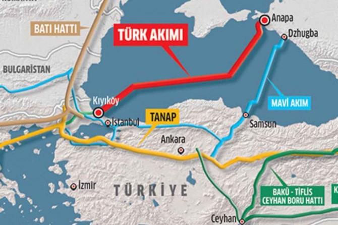 ABD'den, Kuzey Akım-2 ve Türk Akımı boru hattı projelerine yaptırım tehdidi