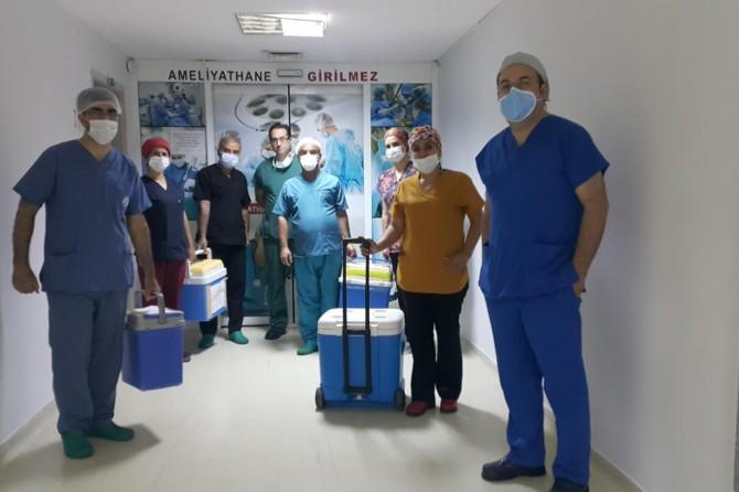 Organları 6 kişiye hayat verecek