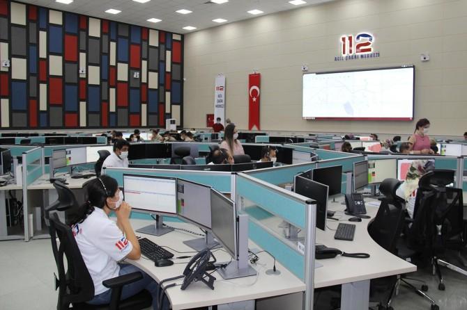 47'nci 112 Acil Çağrı Merkezi Diyarbakır'da hizmet vermeye başladı