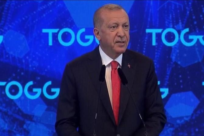 Erdoğan: Türkiye'nin otomobili sadece ülkemizde değil, dünyanın birçok yerinde ses getirdi