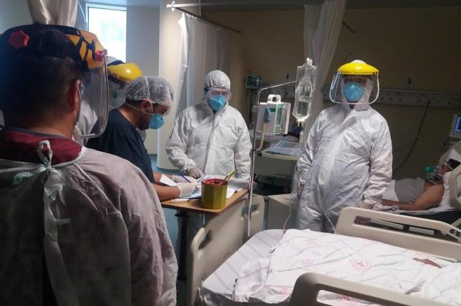 Başkale Devlet Hastanesi çalışanlarında Covid-19 vakaları
