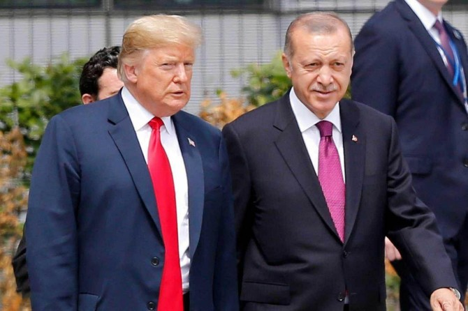 Trump: Erdoğan'la başa çıkmak için keskin zekâya sahip olunmalı