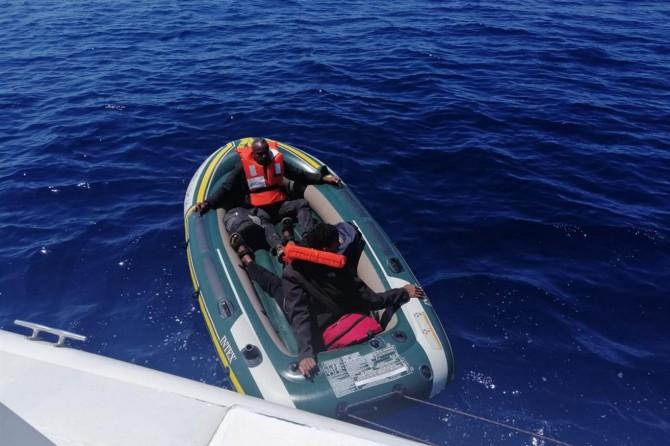 Sahil Güvenlik Komutanlığı: Çanakkale açıklarında 28 düzensiz göçmen kurtarıldı