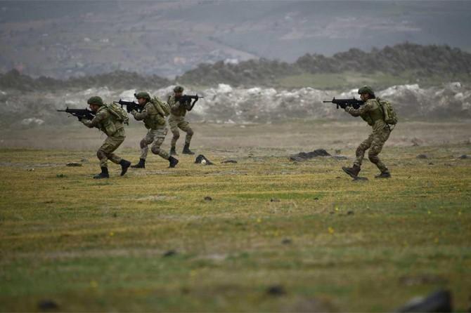 Fırat Kalkanı bölgesine saldırı hazırlığındaki PKK'li öldürüldü