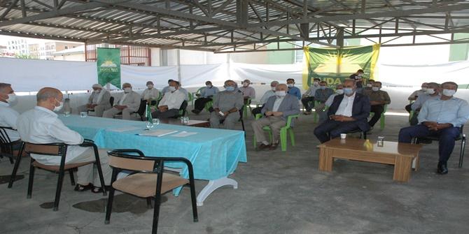 HÜDA PAR Çınar ilçe teşkilatının 3'ncü olağan kongresi yapıldı