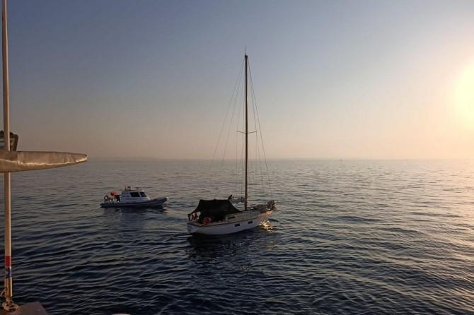Antalya açıklarında 43 düzensiz göçmen yakalandı