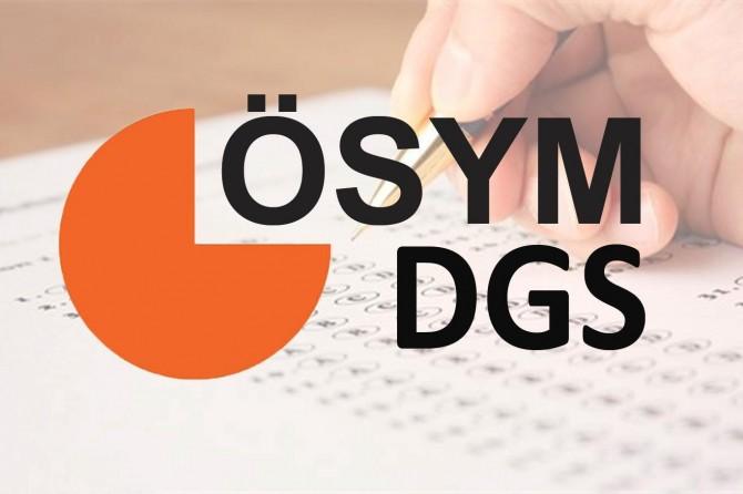 DGS giriş belgeleri erişime açıldı