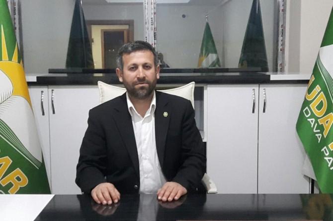 HÜDA PAR Kayseri İl Başkanı Çalhan'dan Kurban Bayramı mesajı