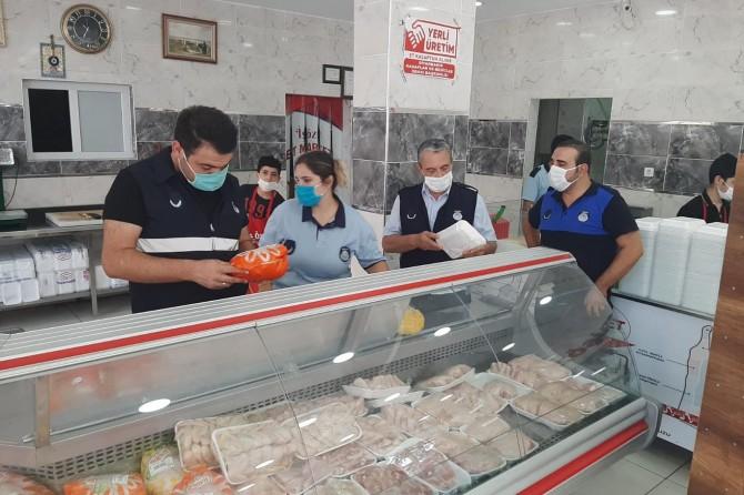 Diyarbakır'da et ürünlerine bayram ve Coronavirus denetimi