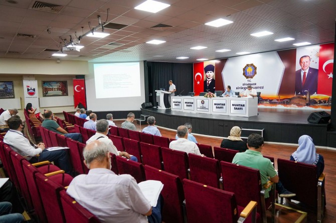Diyarbakır'da 'İş Sağlığı ve Güvenliği' toplantısı yapıldı