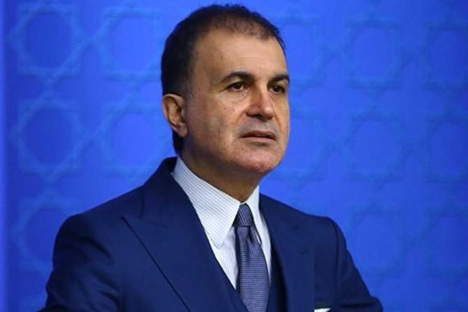 """AK Parti Sözcüsü Çelik: """"Kadınlara karşı kullanılacak tek dil, saygı dilidir"""""""