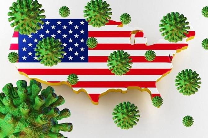 ABD'de son 24 saatte 1442 kişi Coronavirus nedeniyle öldü
