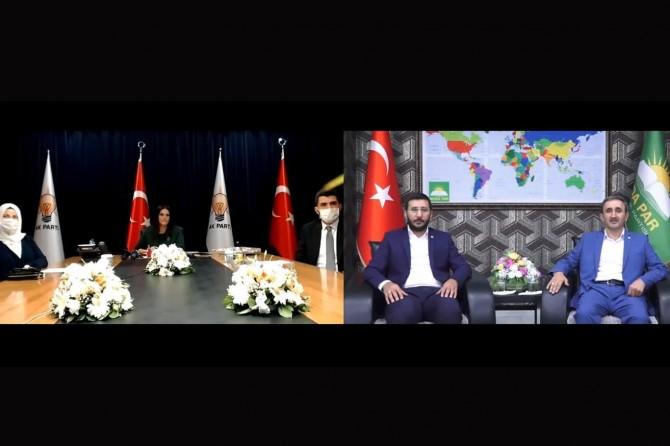 HÜDA PAR exchanges virtual Eid al Adha greetings due to coronavirus pandemic