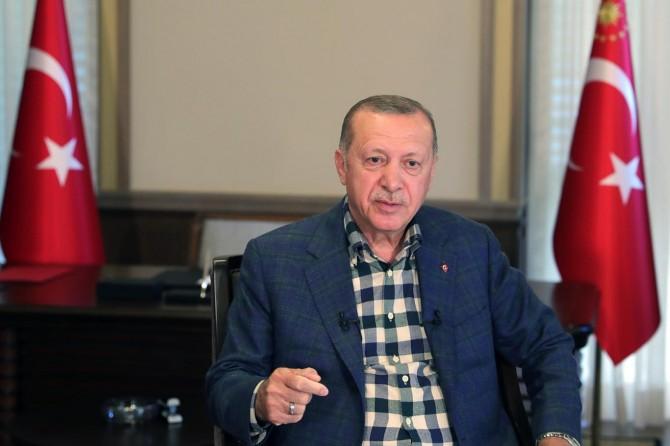 """Erdoğan: """"Ayasofya'nın ibadete açılması, bayram sevincimizi daha da artırmıştır"""""""