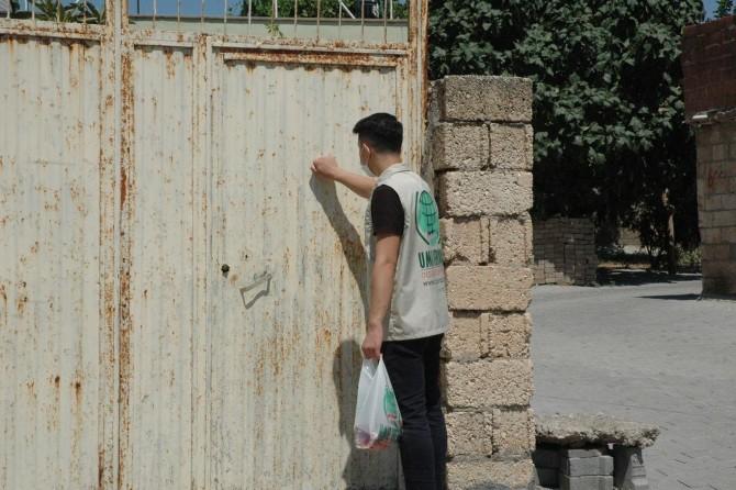 Çınar Umut Kervanı 600 aileye kurban eti dağıttı