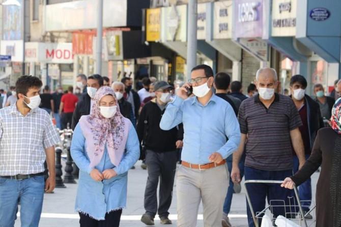 Gaziantep'te 2 bin 913 kişiye sosyal mesafe ve maske cezası verildi