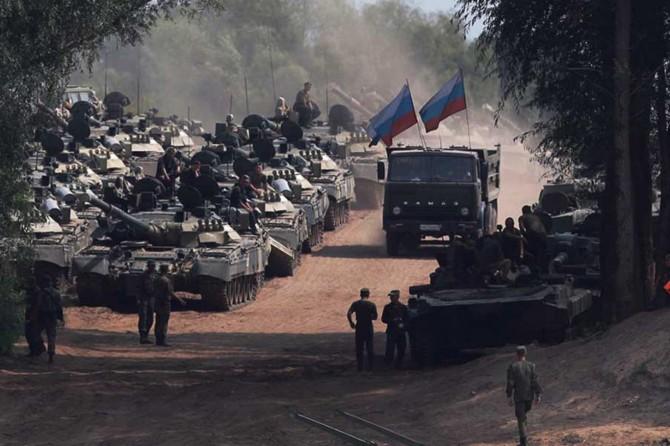 Rusya'dan Kırım'da askeri tatbikat
