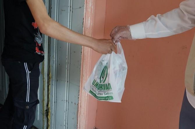 Van Umut Kervanı, kurban etlerini muhtaçlara dağıtmayı sürdürüyor