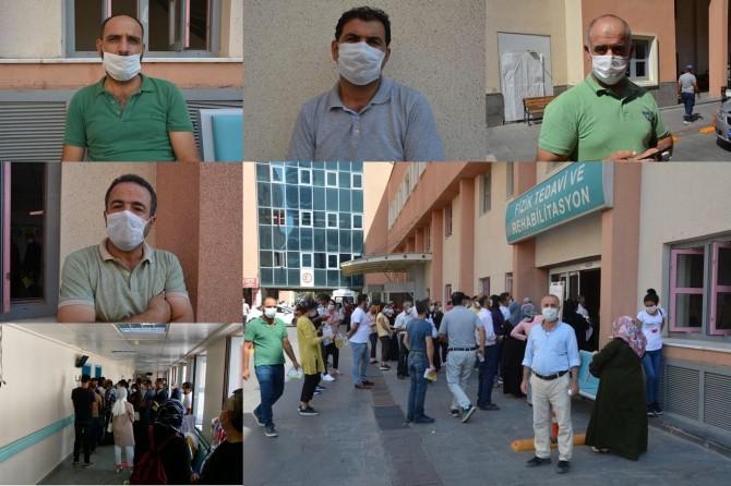 Saatlerce sıra bekleyen Batmanlılar, bölge hastanesinin yetersiz olduğu çağrısında bulundu