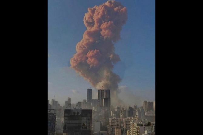 """Ürdün Sismolojik Gözlemevi: """"Beyrut'taki patlama 4,5 büyüklüğündeki depreme eşit"""""""
