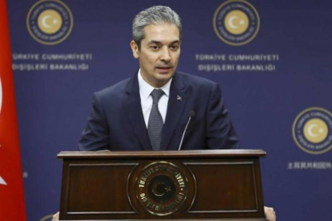 Dışişleri Bakanlığı: Dost ve kardeş Lübnan'a her türlü desteği vermeye devam edeceğiz