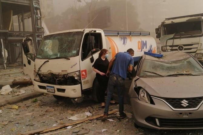 Beyrut Valisi: Patlamanın hasarı 15 milyar dolara ulaşabilir