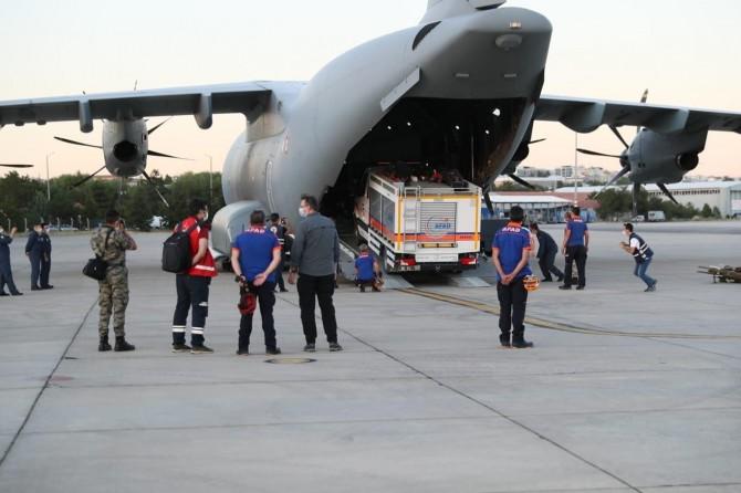 Türkiye'den Lübnan'a gönderilecek yardım bu gece yola çıkacak