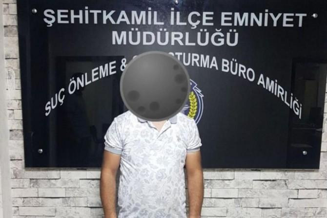Hakkında kesinleşmiş 12 yıl hapis cezası bulunan firari Gaziantep'te yakalandı