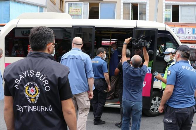 İstanbul'da Covid-19 denetimleri yapıldı