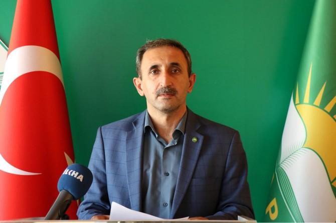 HÜDA PAR'dan Dicle Üniversitesi'nin Kürtçe tez yasağına sert tepki