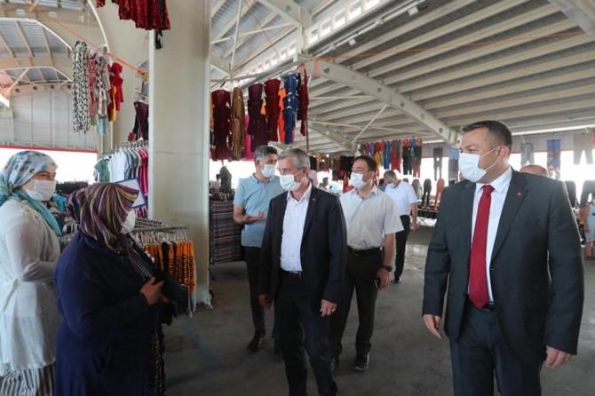 Gaziantep'te kapsamlı Covid-19 denetimi yapıldı