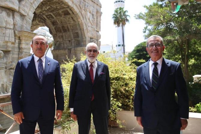 """Bakan Çavuşoğlu: """"Düzensiz göçle mücadelede Libya'ya destek olacağız"""""""