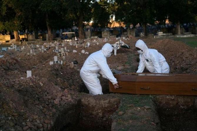 Brezilya'da Covid-19'dan ölenlerin sayısı 100 bine dayandı