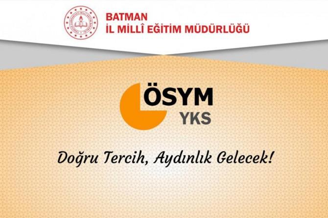 Batman'da öğrencilere YKS tercih danışmanlığı hizmeti verilmeye başlandı