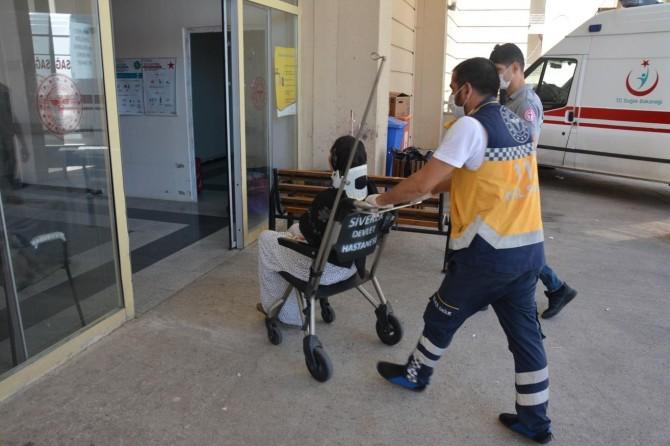 Siverek'te karampole devrilen otomobilde aynı aileden 9 kişi yaralandı