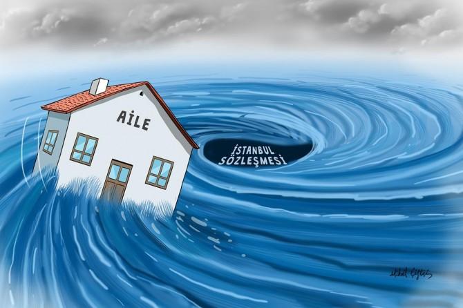 İstanbul Sözleşmesi Çalışma Platformu: Sözleşme ailede erozyona sebep oluyor