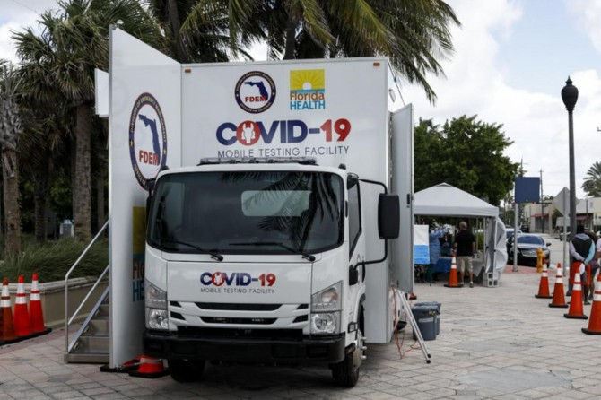 ABD'de Covid-19 nedeniyle son 24 saatte 1176 ölüm