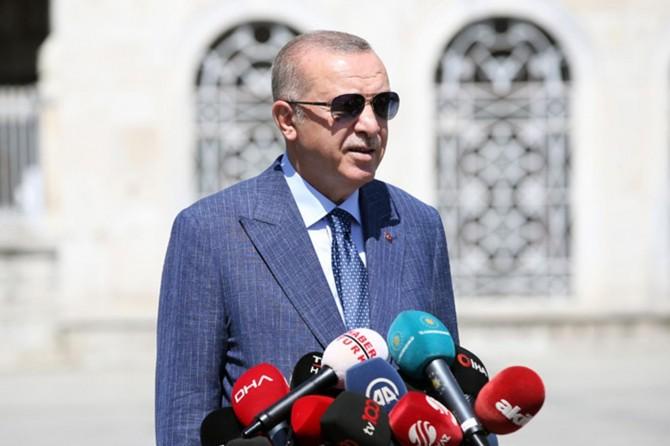 """Erdoğan: """"Güçlenerek yolumuza devam ediyoruz, bugün dünden daha güçlüyüz"""""""