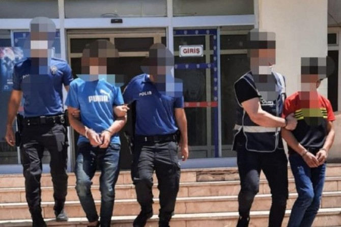 Gaziantep'te aranan 145 şüpheli asayiş denetimlerinde yakalandı
