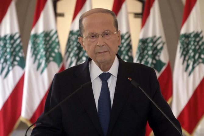 Lübnan Cumhurbaşkanı Mişel Avn: Beyrut'taki patlamanın nedeni ya ihmal ya da saldırı