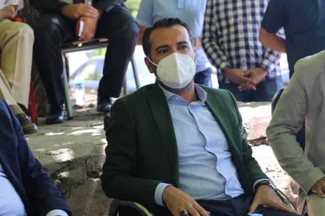 Elazığ Belediye Başkanı Şahin Şerifoğulları Covid-19'a yakalandı