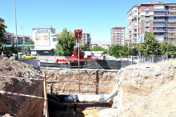 Malatya'da içme suyu şebekesi üzerine kurulan santralle enerji üretilecek
