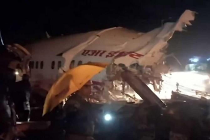 Hindistan'da düşen uçakta ölenlerin sayısı 18'e yükseldi