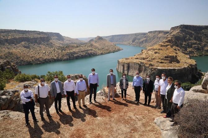 Gaziantep Rumkale'ye Türkiye'nin en büyük cam terası yapılacak