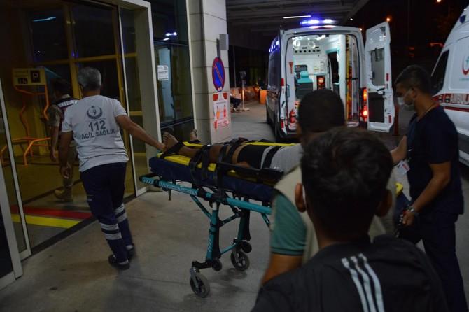 Eruh'ta patpat kazası: 1'i ağır 4 yaralı