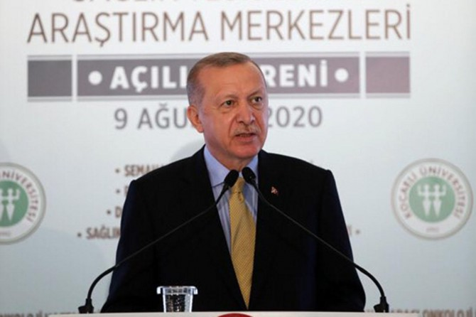 """Erdoğan: """"Sağlık yatırımlarımızın kıymeti salgın döneminde çok iyi anlaşılmıştır"""""""