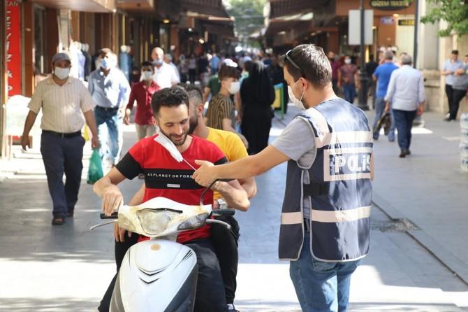 Gaziantep'te coronavirus tedbirlerine uymayanlara para cezası verildi