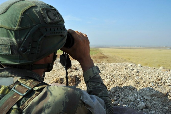 MSB: Fırat Kalkanı bölgesinde 2 PKK/YPG'li öldürüldü