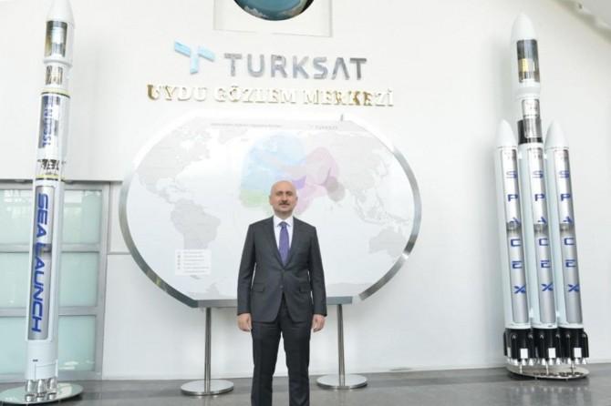 """Ulaştırma ve Altyapı Bakanı Karaismailoğlu: """"Uzay yarışında biz de varız"""""""